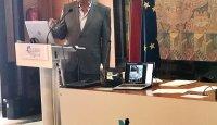 Eng. Joaquim Carlos Correia Peres na apresentação do Relatório e Contas