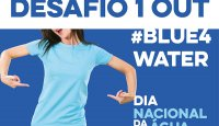 Cartaz do Desafio #blue4water