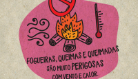 Banner - Fogueiras e queimadas