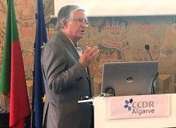 Eng. Joaquim Carlos Correia Peres a discursar